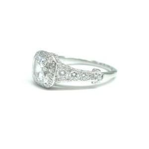 Tiffany & Co Platinum Legacy Graduated Diamond Engagement Ring