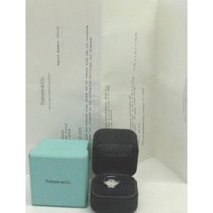 Tiffany & Co. Platinum Emerald & Trillion Cut 2.65ct Diamond Engagement Ring