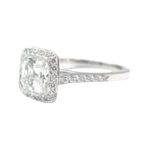 Tiffany & Co. PT950 Platinum with 2.37ct Diamond Ring Size 7