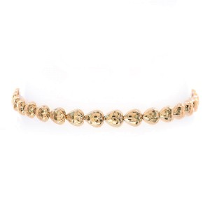 Avital & Co. 10K Yellow Gold Heart Link Bracelet