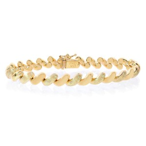 14K Yellow Gold San Marco Fancy Bracelet
