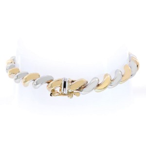 Avital & Co. 14K Two Tone Gold San Marco Fancy Bracelet