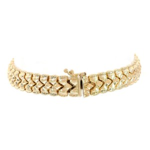 14K Yellow Gold Fancy Link Bracelet
