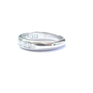 Tiffany & Co. Platinum Lucida Diamond Band Ring
