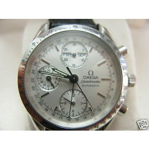 Omega Stainless Steel Speedmaster Chronograph Mens Watch