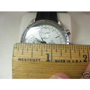 Omega Stainless Steel Speedmaster Chronograph Mens Watch