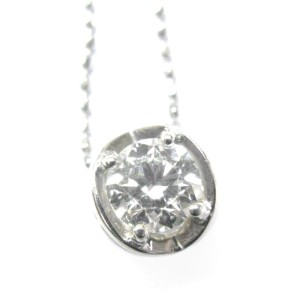 Hearts On Fire 55Ct G-VS2 Round Diamond Solitaire 4-Prong Pendant Necklace
