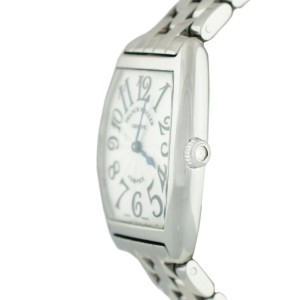Franck Muller 7502 Cintree Curvex Stainless Steel Ladies Quartz Ladies Watch