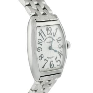 Franck Muller 7502 Cintree Curvex Stainless Steel Ladies Quartz Ladies Watch