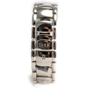 Beluga Manchette Ladies Ebel 9057A21 Diamond Blue Mother of Pearl Quartz Watch