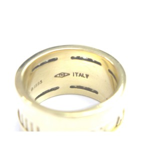 Tiffany & Co 18k Atlas Diamond Yellow Gold Ring