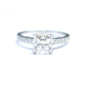 Tiffany & Co Platinum Diamond Engagement Ring