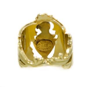 Bellini 18K Yellow Gold Knight Ring
