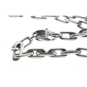 Cartier 18K White Gold Spartacus Link Chain Necklace