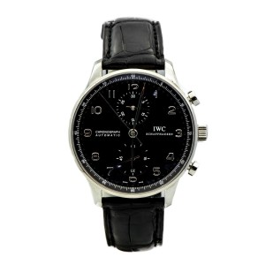 IWC Schaffhausen Ref. IW3714 Portuguese Automatic Chronograph Mens 41mm Watch