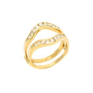 14K Yellow Gold 0.71 ct. Round Diamond Ring