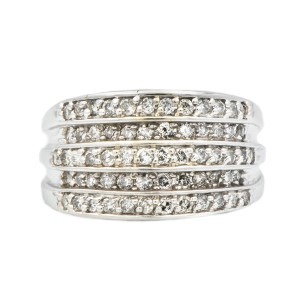 14K White Gold Women's Ring