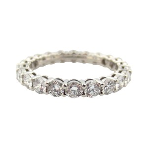 Tiffany & Co. Platinum Full Circle Diamond Wedding Ring