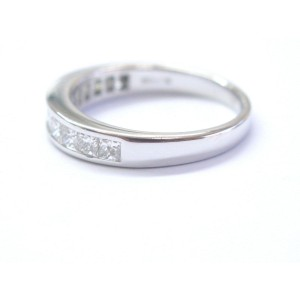 Platinum Diamond Band Ring
