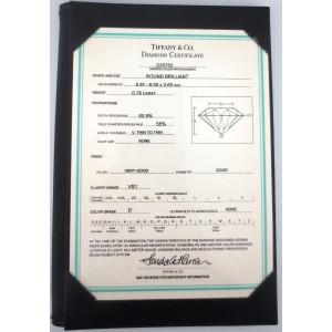 Tiffany & Co. Platinum Diamond Ribbon Ring