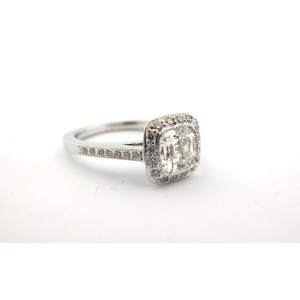 Tiffany & Co. Platinum Legacy Diamond Engagement Ring