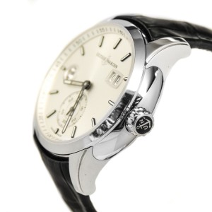 Ulysse Nardin 334-312-6/91 GMT Dual Time Silver Dial Automatic Men's Watch