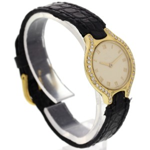 Ebel 18k Yellow Gold w/ Diamonds Womens Watch