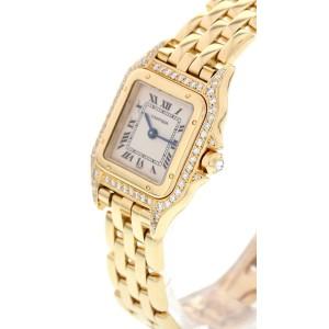 Cartier Panthere 18K Yellow Gold & Diamonds  Womens Watch