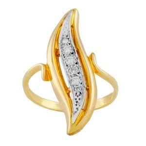 Yellow Gold Diamond Ring Size 6.5