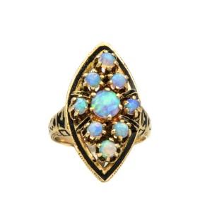 Fire Opal, Opal Ring