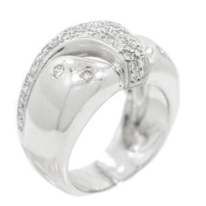 White White Gold Diamond Womens Ring Size 6