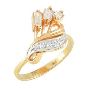 Rose Gold Diamond Ring Size 6.5