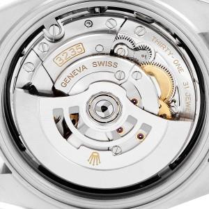 Rolex Datejust 41 Steel Yellow Gold Diamond Mens Watch