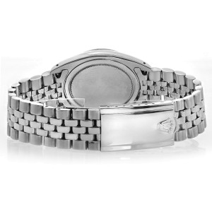 Rolex Oyster Perpetual Roulette Date Stainless Steel Jubilee Bracelet Vintage Mens Watch
