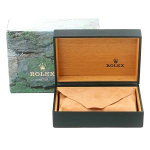 Rolex Datejust Steel White Gold Salmon Diamond Dial Mens Watch 16234