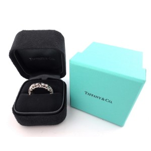 Tiffany & Co. Jean Schlumberger Platinum 1.14 Ct Diamond Ring Size 6.5