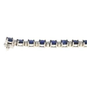 White White Gold Sapphire, Diamond Womens Bracelet
