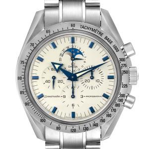 Omega Speedmaster MoonPhase Chronograph Mens Watch 3575.20.00 Card