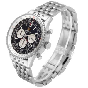Breitling Navitimer 50th Anniversary Black Dial Watch A41322