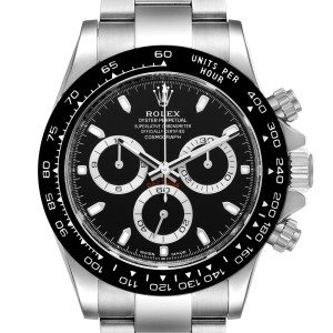 Rolex Cosmograph Daytona Ceramic Bezel Black Dial Mens Watch 116500