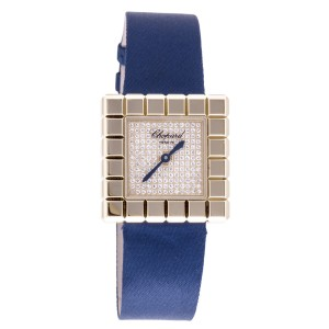 Chopard Ice Cube by De Grisobono 18K Gold/ Stainless Steel 25mm Womens Watch