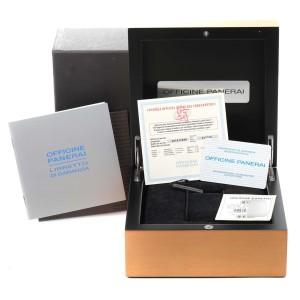 Panerai Luminor Blue Dial Automatic Steel Mens Watch PAM00119