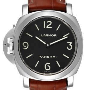 Panerai Luminor Base 44mm Left Handed Watch PAM219 PAM00219