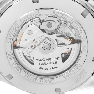 Tag Heuer Carrera Day-Date Champagne Dial Mens Watch CV2A1H