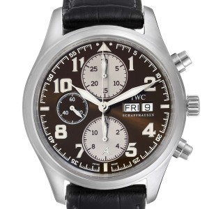 IWC Spitfire Pilot Saint Exupery Limited Edition Mens Watch IW371709 Card