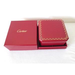 Genuine New Model Cartier Presentation Love Bracelet Box Box Red