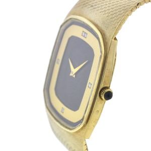 Movado 14K Yellow Gold Quartz 30mm Unisex Vintage Watch