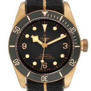 Tudor Heritage Black Bay Bronze Black Dial Mens Watch 79250