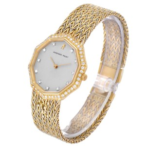 Audemars Piguet Vintage 18k Yellow Gold Diamond Ladies Watch 256731