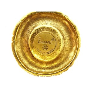 Chanel Gold Tone Hardware Necklace